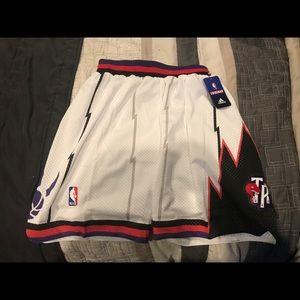 Adidas Toronto Raptors Retro Basketball Shorts XL
